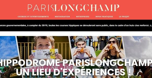 site de l'hippodrome de paris longchamp